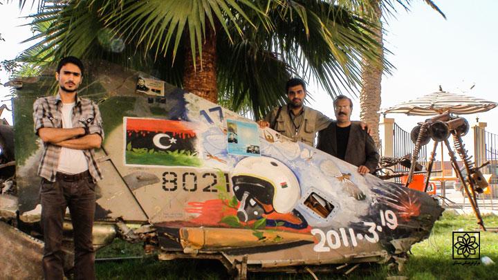رو در رو با قهرمان در لیبی