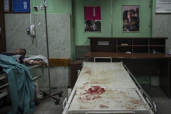 عکاسی از نزدیک در غزه