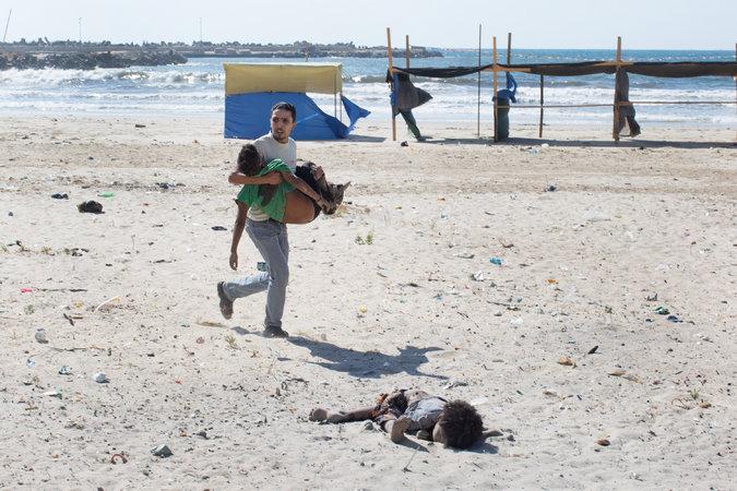 خون و بمب: عکاسی از غزه