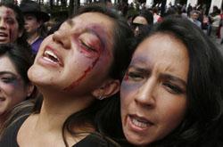 جنگ علیه زنان در خانه و خارج از آن...